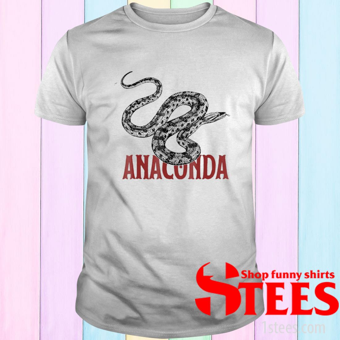I Love My Anaconda Snake Shirt