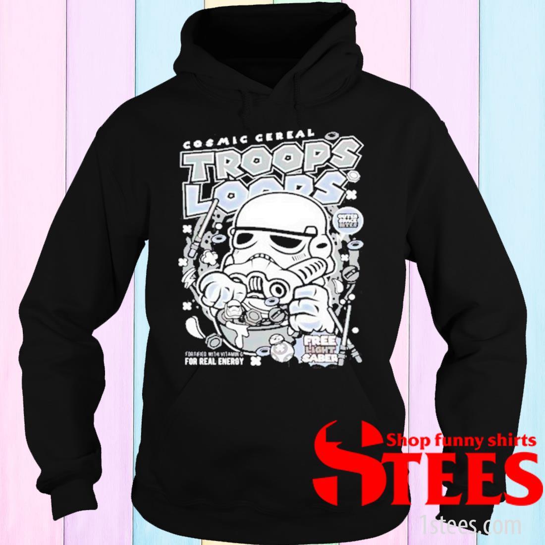 Cosmic Cereal Trooper Loops Shirt hoodie