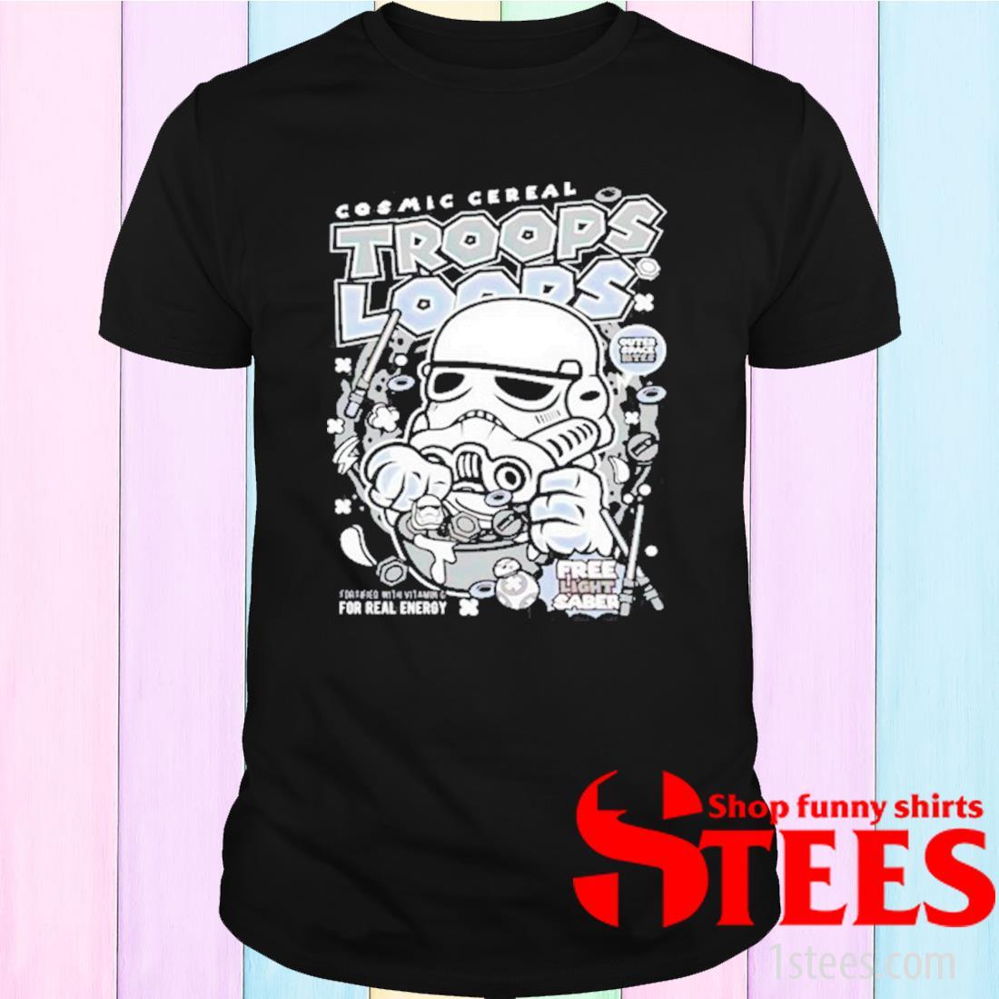Cosmic Cereal Trooper Loops Shirt