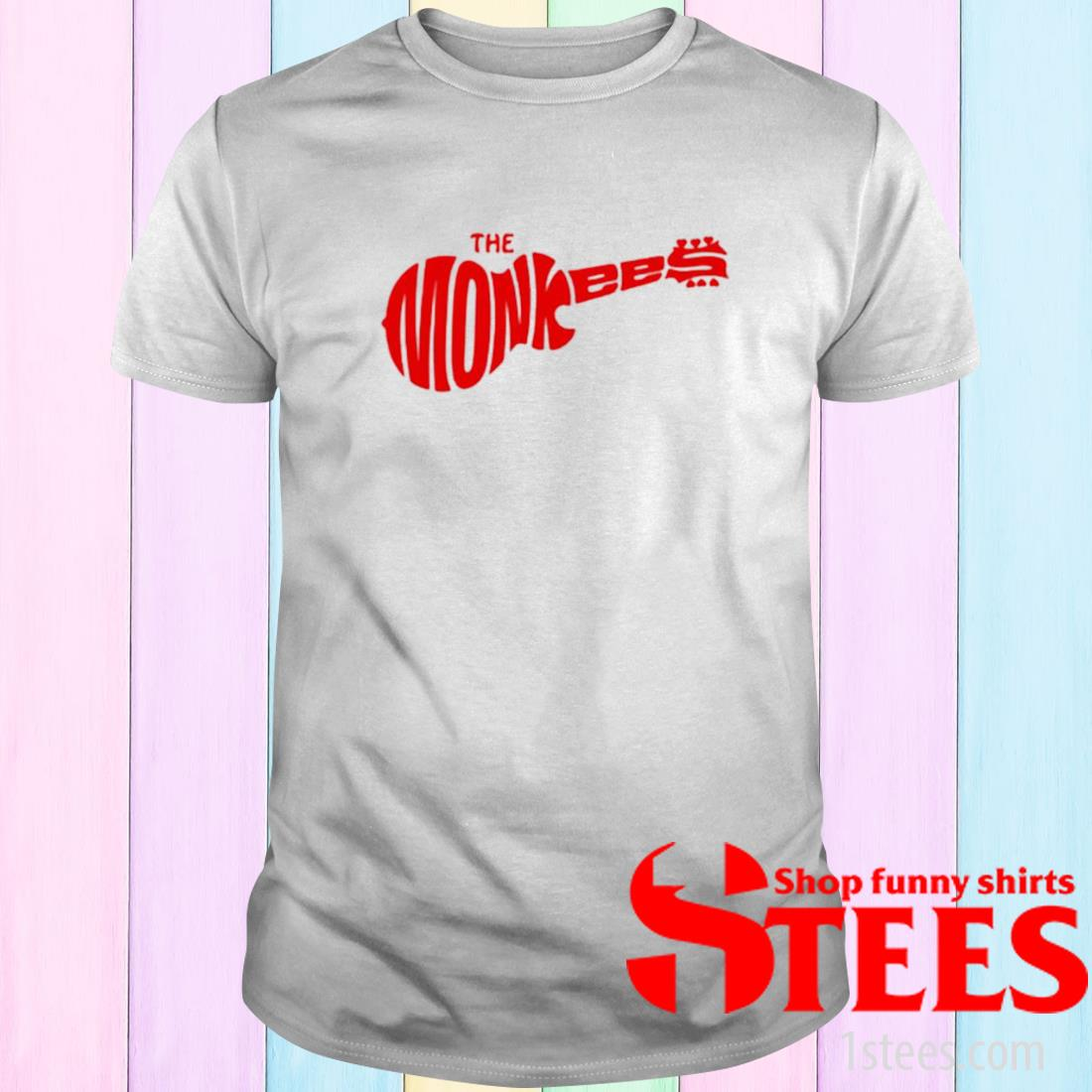 The Monkees Guitar Shirt