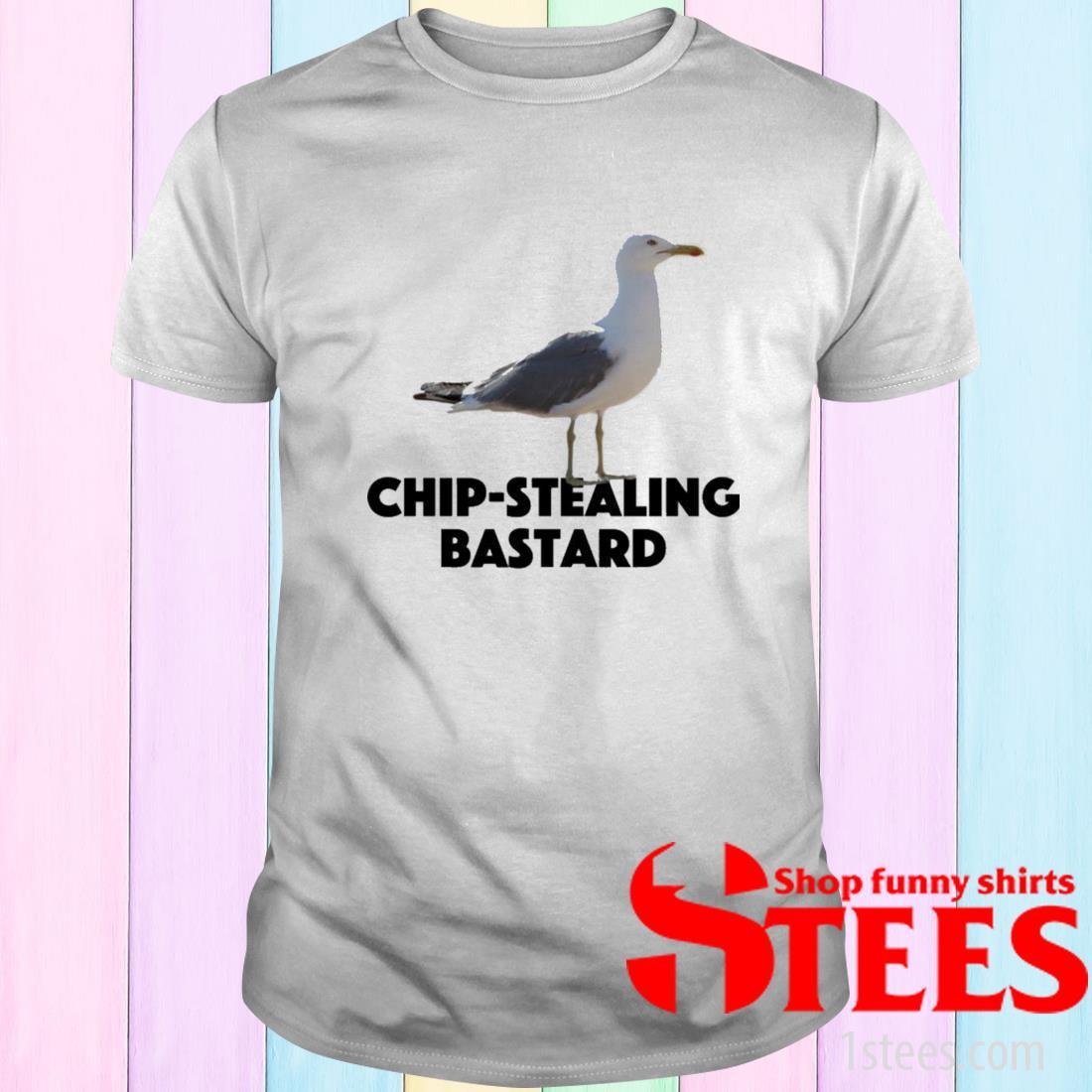 Western Gull Chip Stealing Bastard Shirt