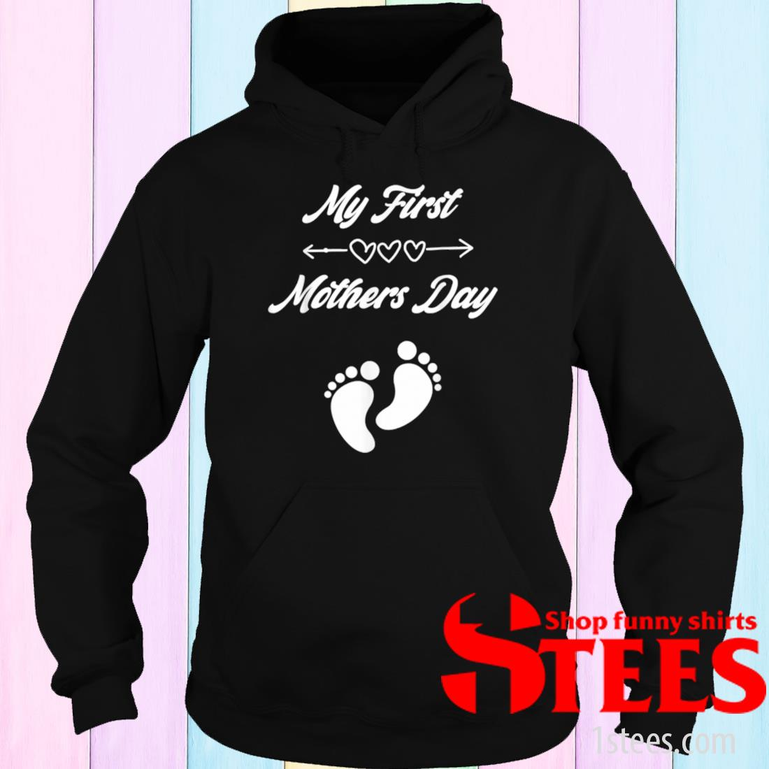 My First Mothers Day Pregnancy Announcement Shirt hoodie
