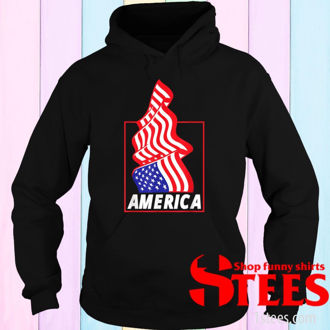Patriotic American Flag Patriotic Decorations Shirt hoodie