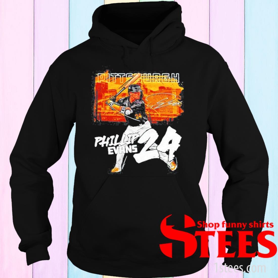 Pittsburgh Baseball Phillip Evans 24 Signature Shirt hoodie
