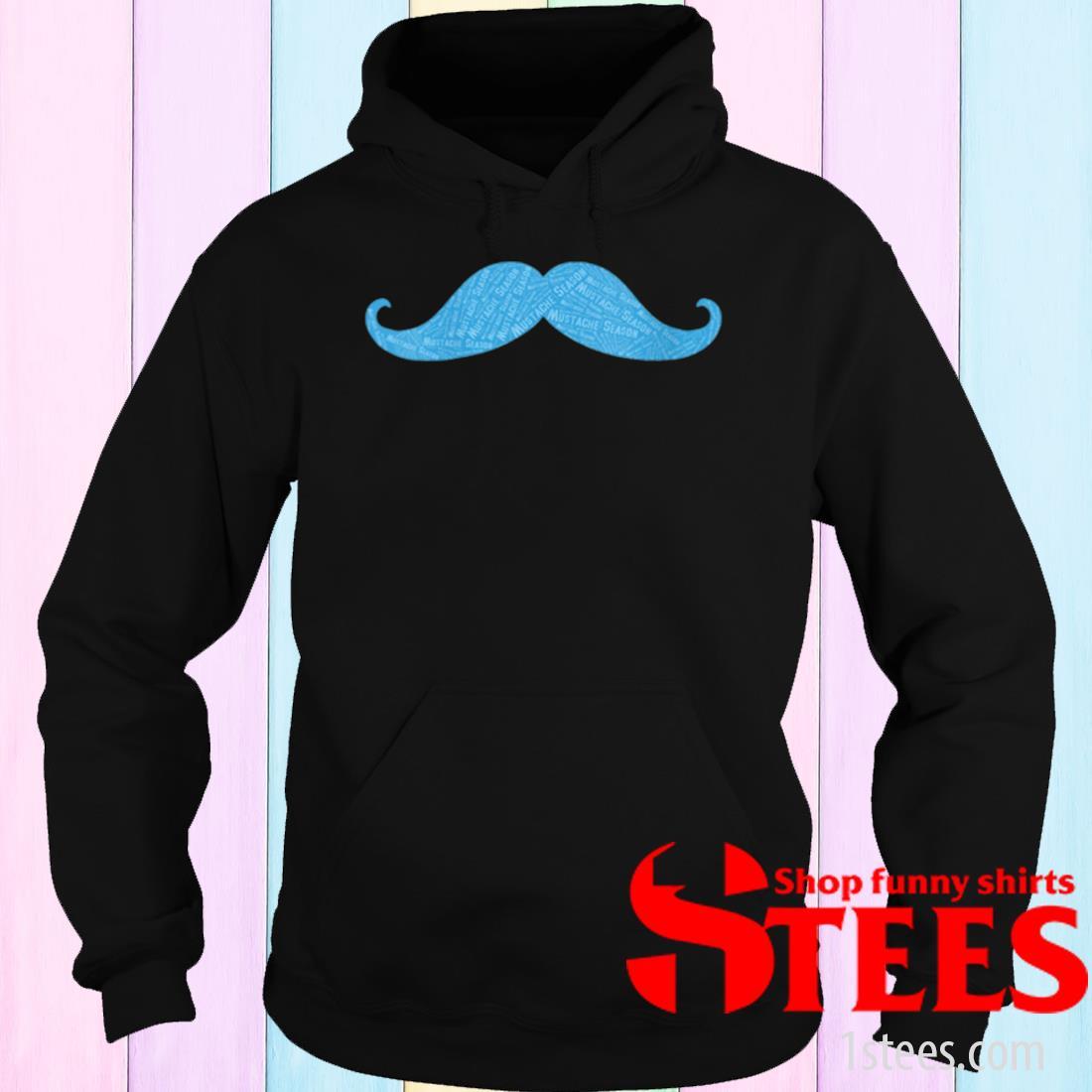 Prostate Cancer Awareness Mustache Shirt hoodie
