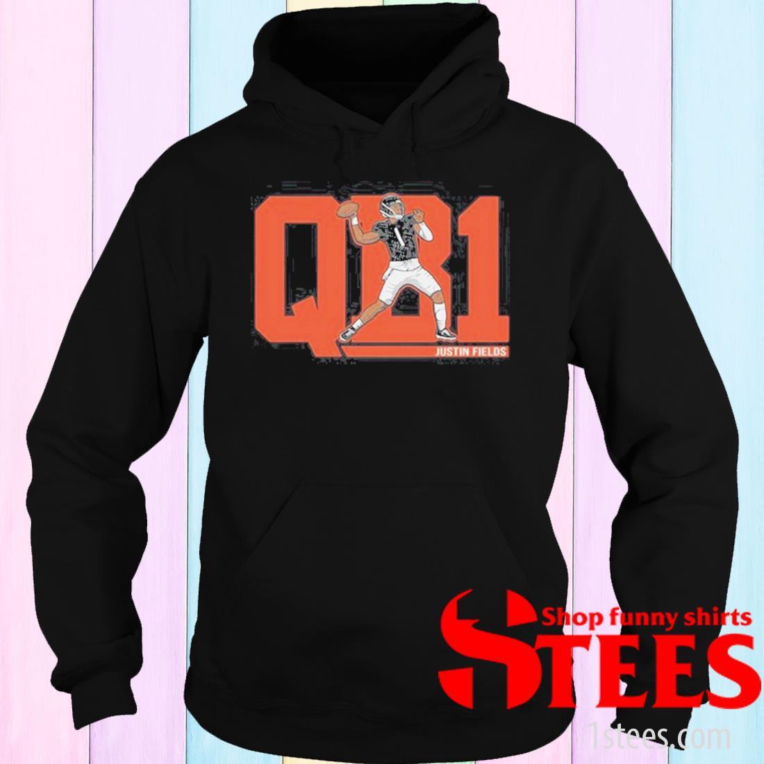 QB1 Justin Fields Shirt hoodie
