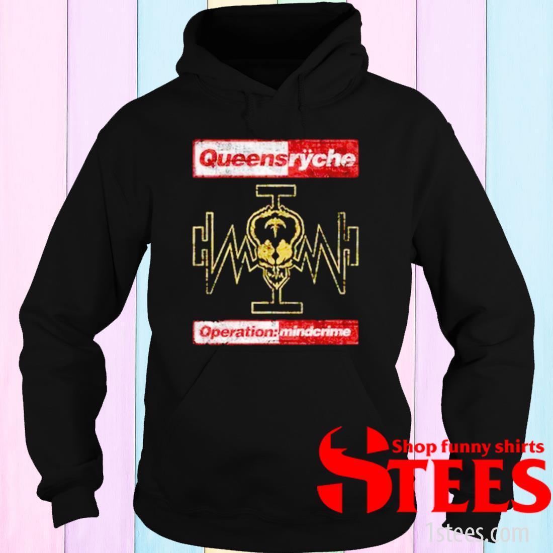 Queensryche Operation Mindcrime Shirt hoodie