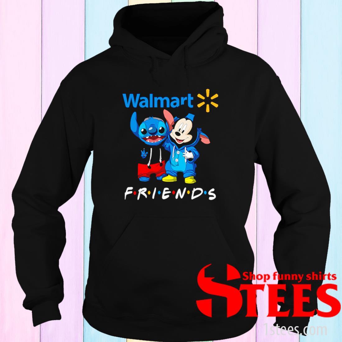 Walmart Stitch And Mickey Friends Shirt hoodie