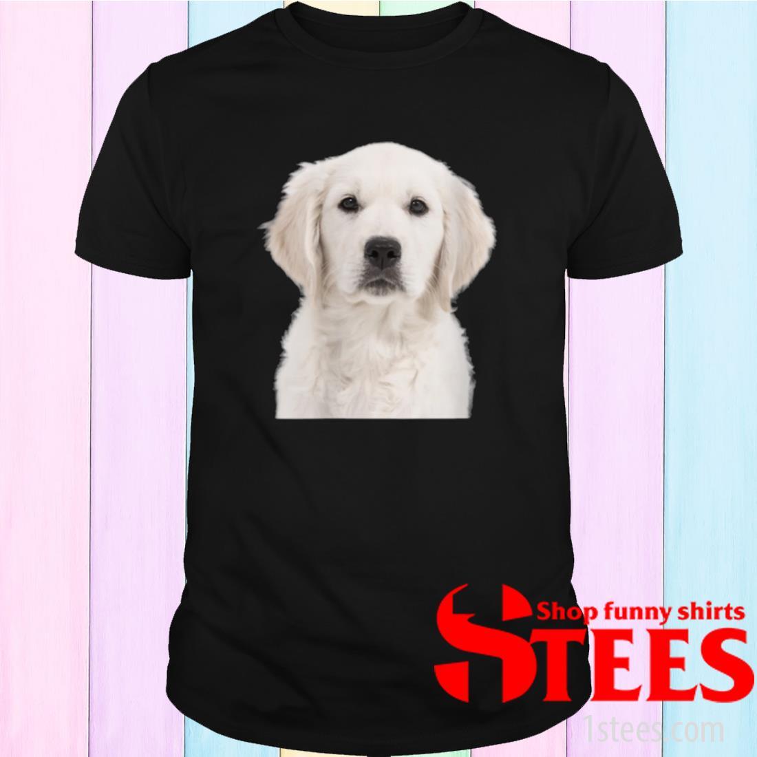 White Labrador Retriever Shirt Yellow Love Lab Mom Dog Dad Shirt