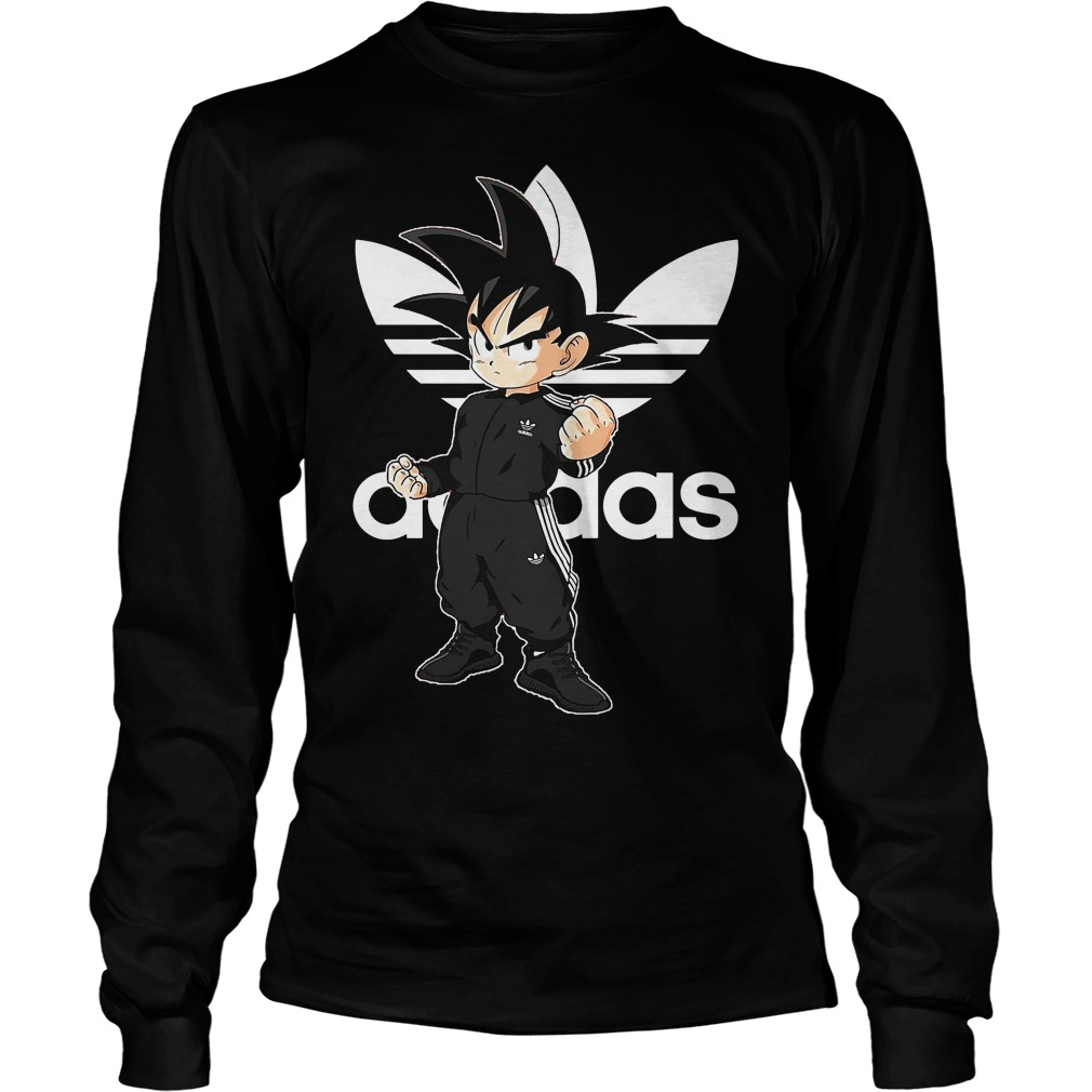 Official Dragon Ball Z: Goku Adidas longsleeve Shirt