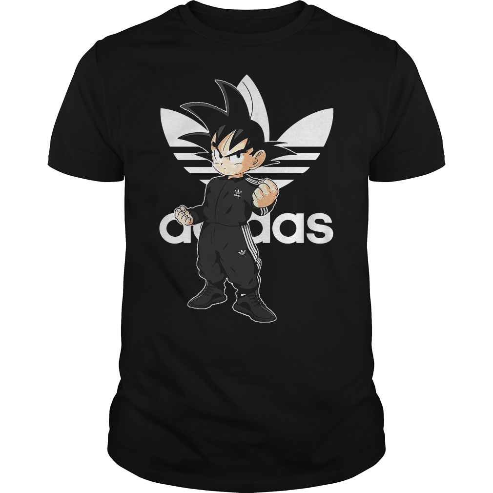 Official Dragon Ball Z: Goku Adidas Shirt