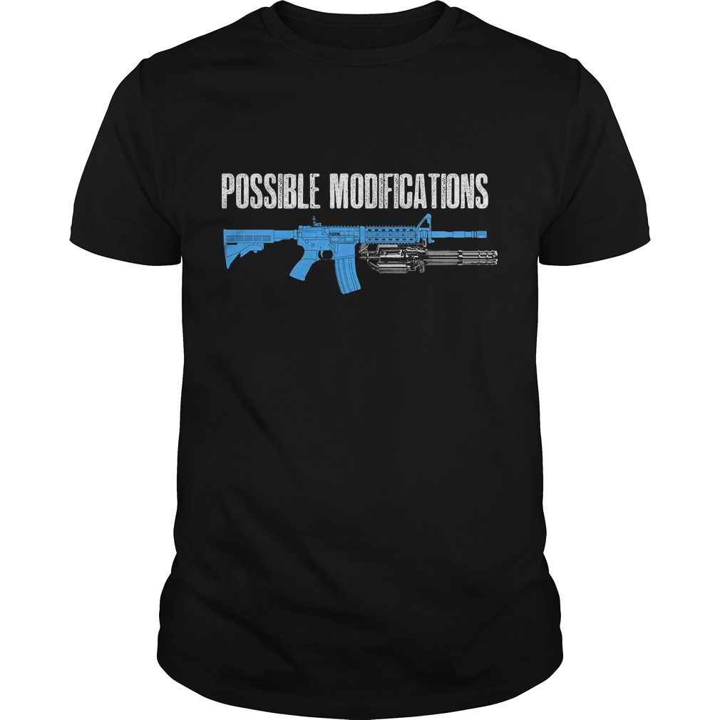Possible modifications gun shirt
