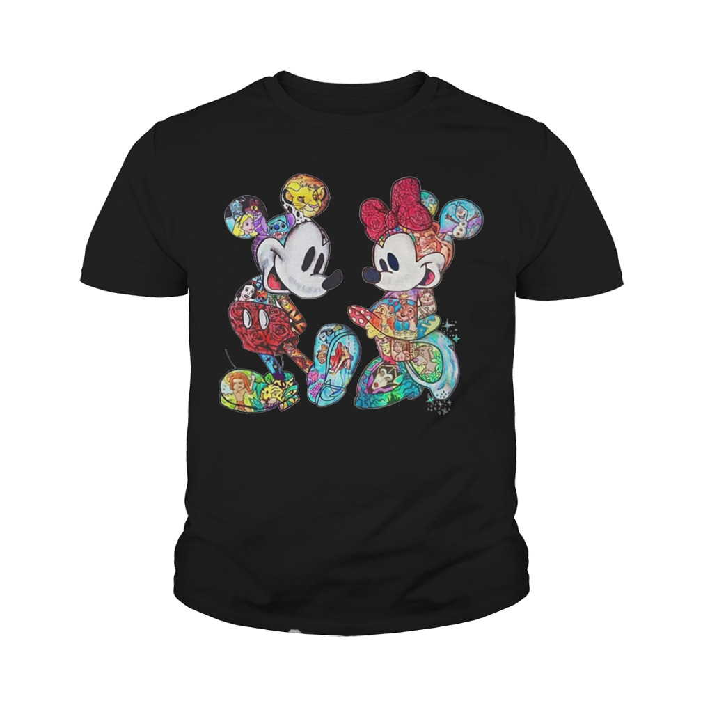 mickey minnie tattoo shirt hoodie sweater and tank top. Black Bedroom Furniture Sets. Home Design Ideas