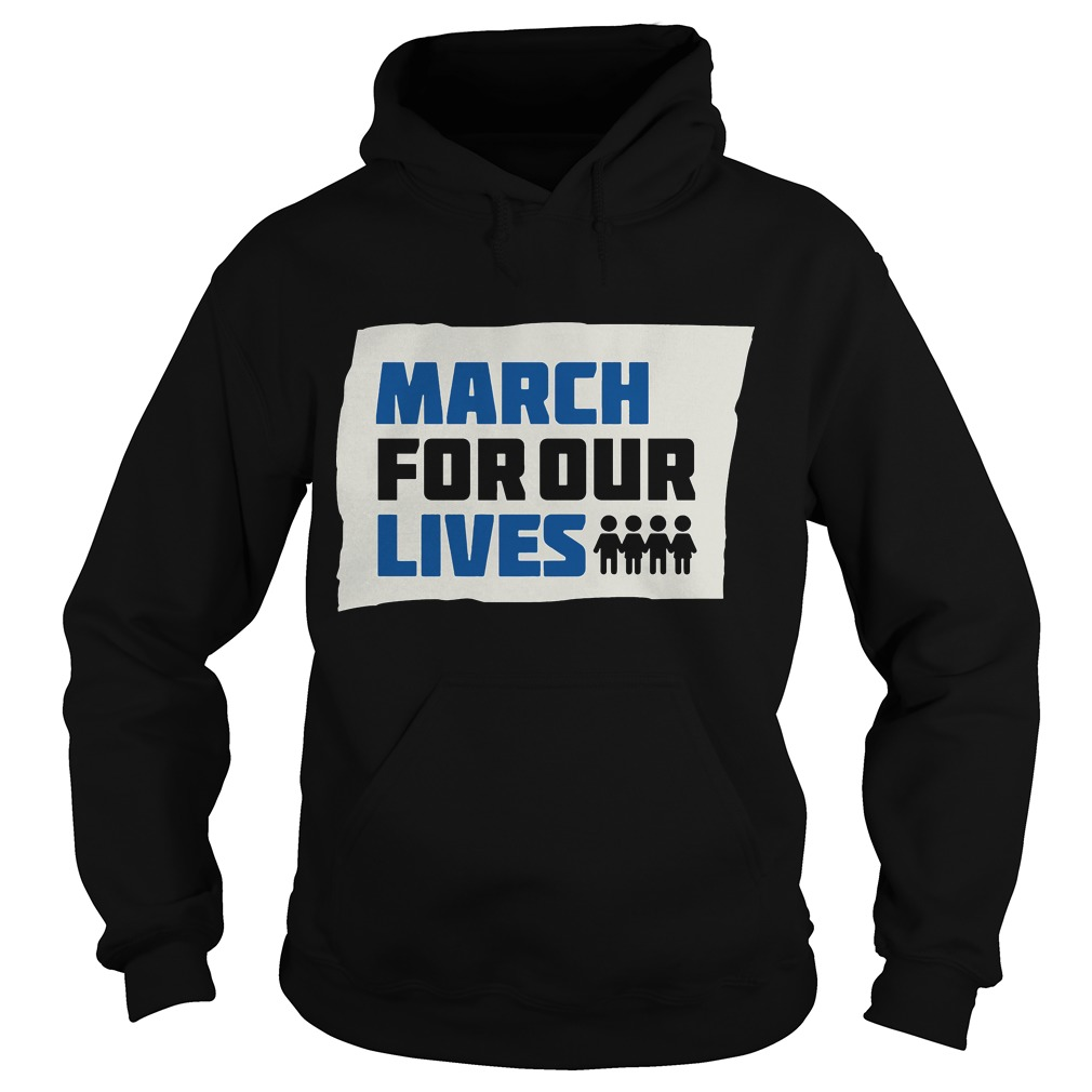 Official March for Our lives hoodie