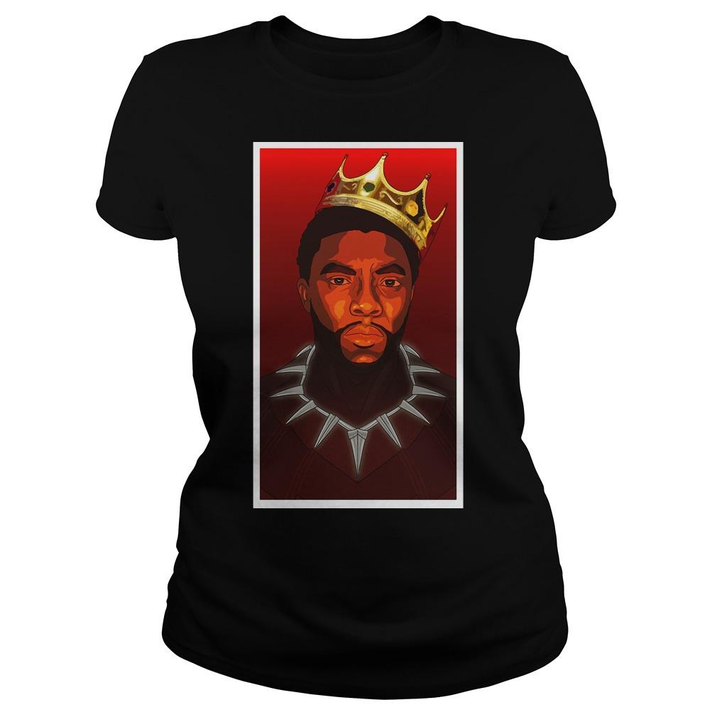 Black Panther Notorious BIG Ladies tee shirt