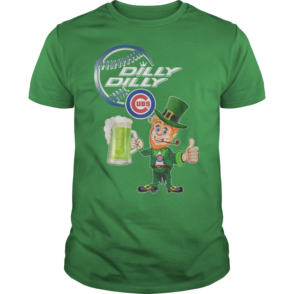 Chicago Cubs Dilly Dilly St patrick's day shirt