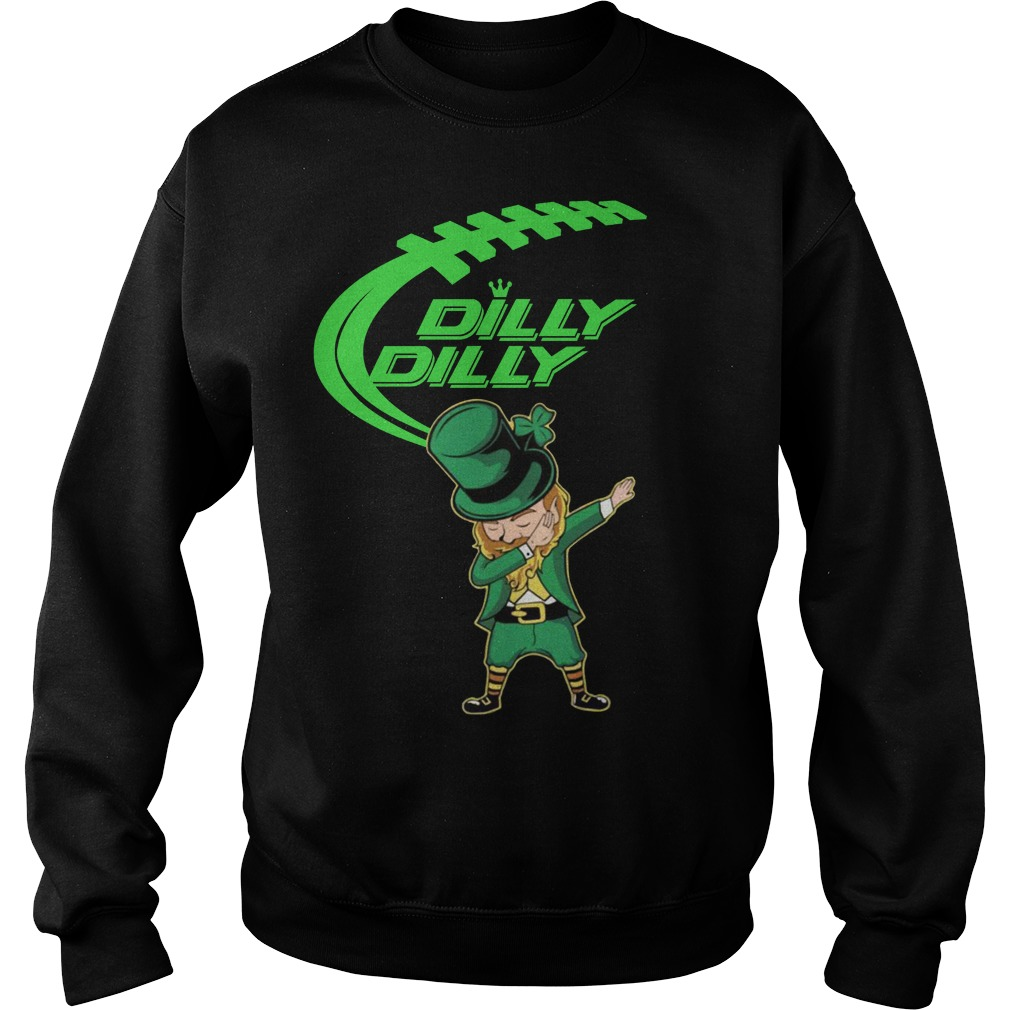 Dilly Dilly Dabechaun Leprechaun dabbing St Patrick's Day Sweater