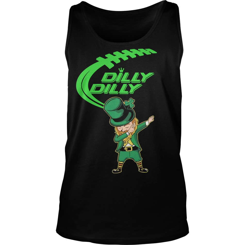 Dilly Dilly Dabechaun Leprechaun dabbing St Patrick's Day Tank top
