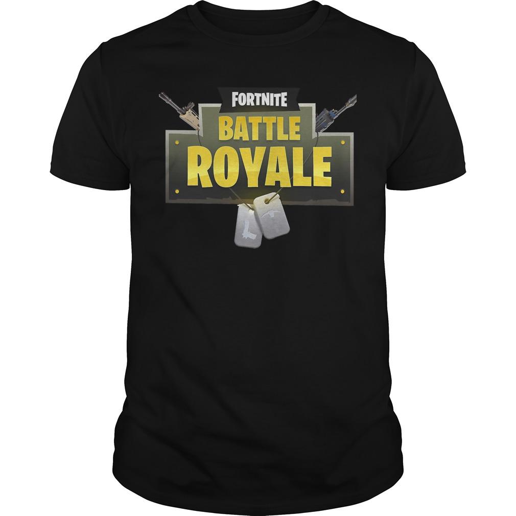 Fortnite battle royale shirt