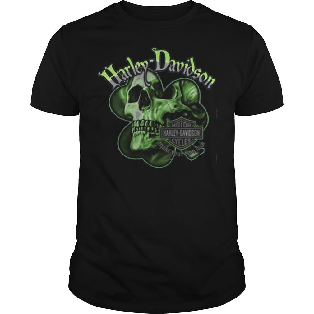 Harley Davidson Skull shirt
