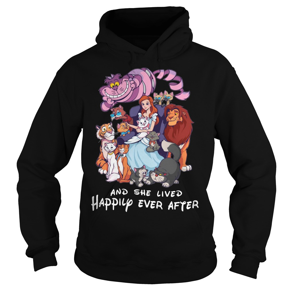 And she lived happily ever after Disney Hoodie
