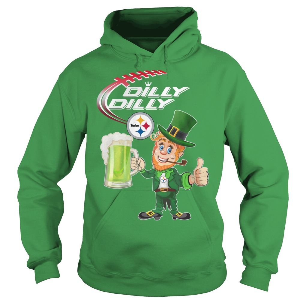 Steelers Dilly Dilly St patrick's day Hoodie