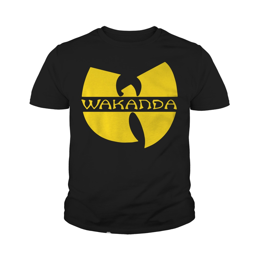 Wakanda Wu Tang Youth Tee