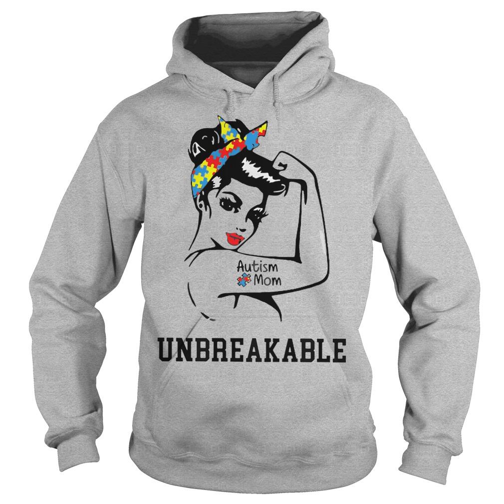 Autism mom Unbreakable Hoodie