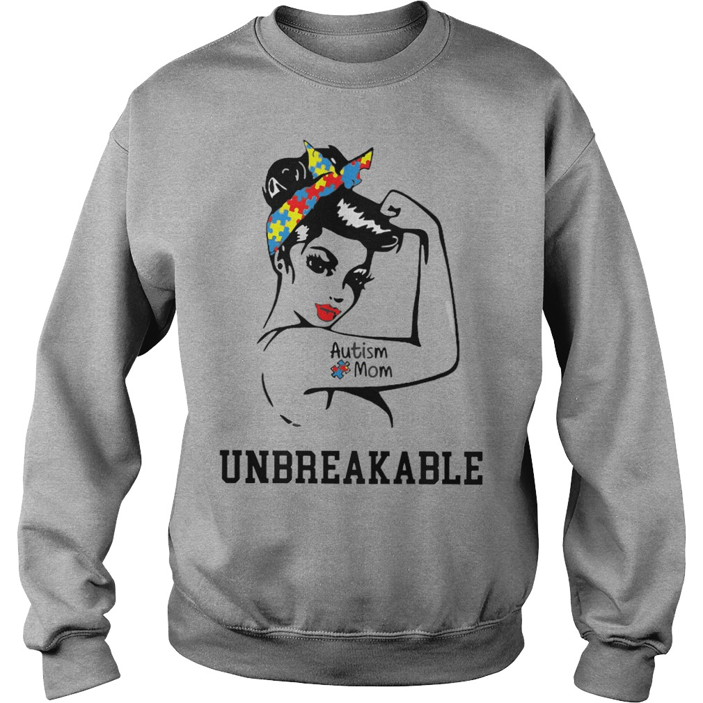 Autism mom Unbreakable Sweater