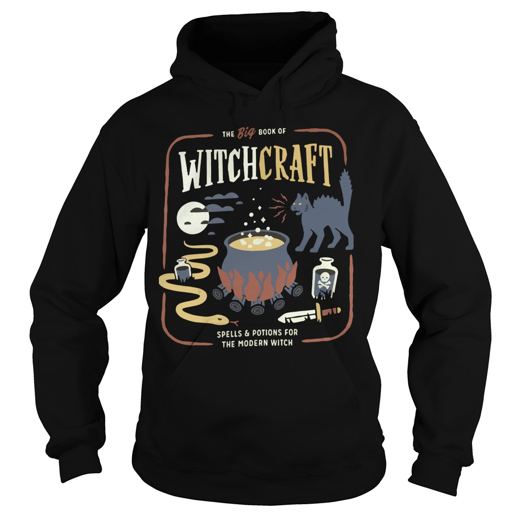 The big book of witchcraft spells and potions for the modern witch Hoodie