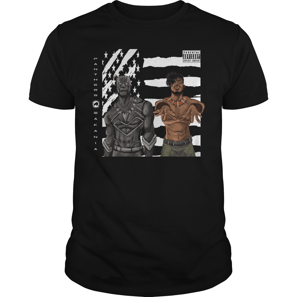 Black Panther and Outkast Stankonia shirt