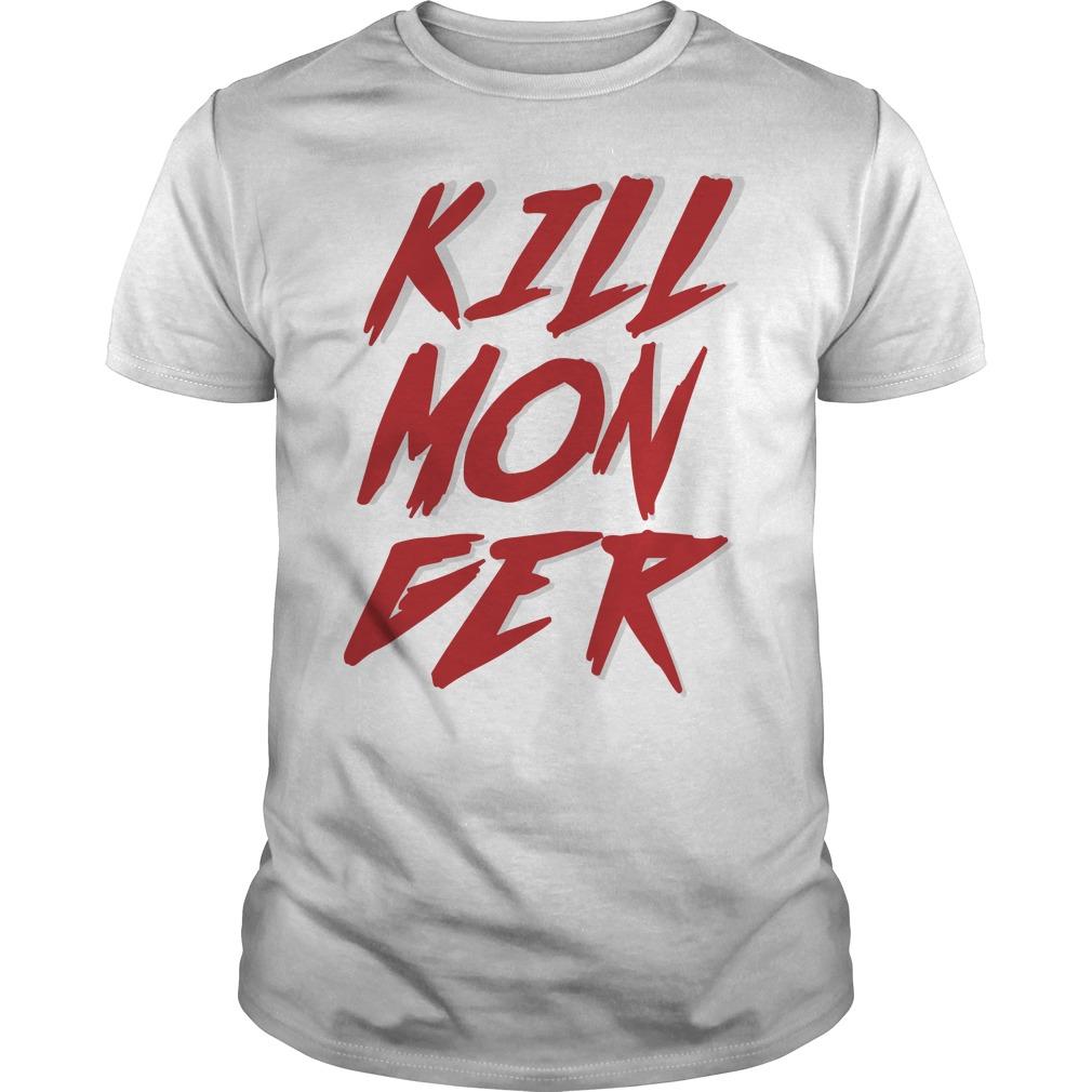 Killmonger red front shirt