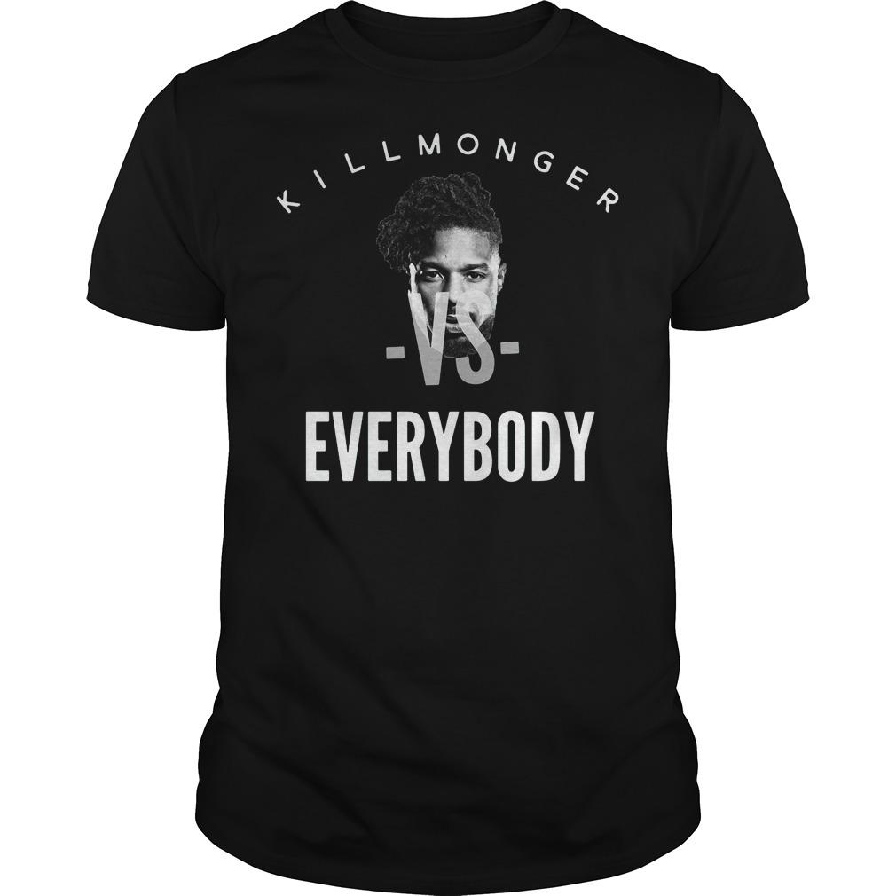 Killmonger vs everybody shirt
