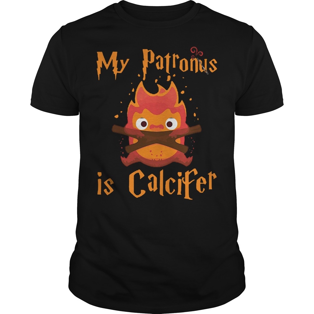 My patronus is Calcifer shirt