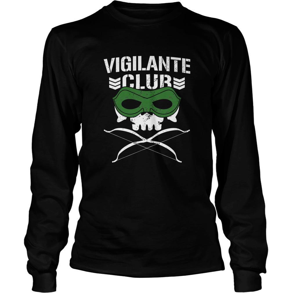 Vigilante club longsleeve shirt