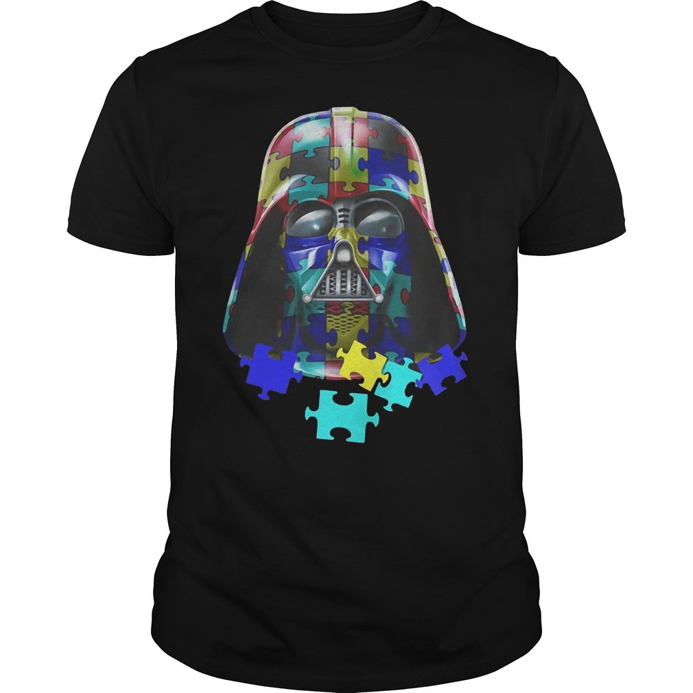 Autism Darth Vader guys t shirt