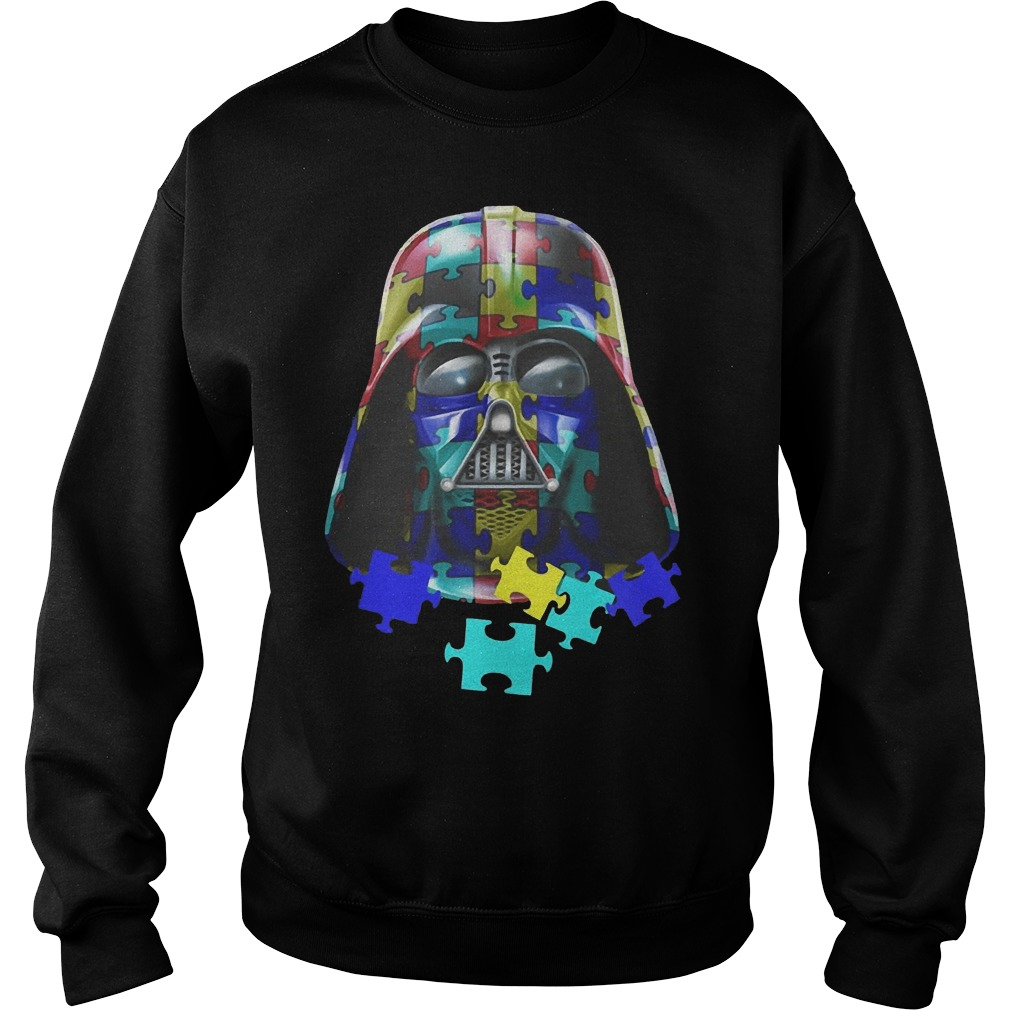 Autism Darth Vader sweater