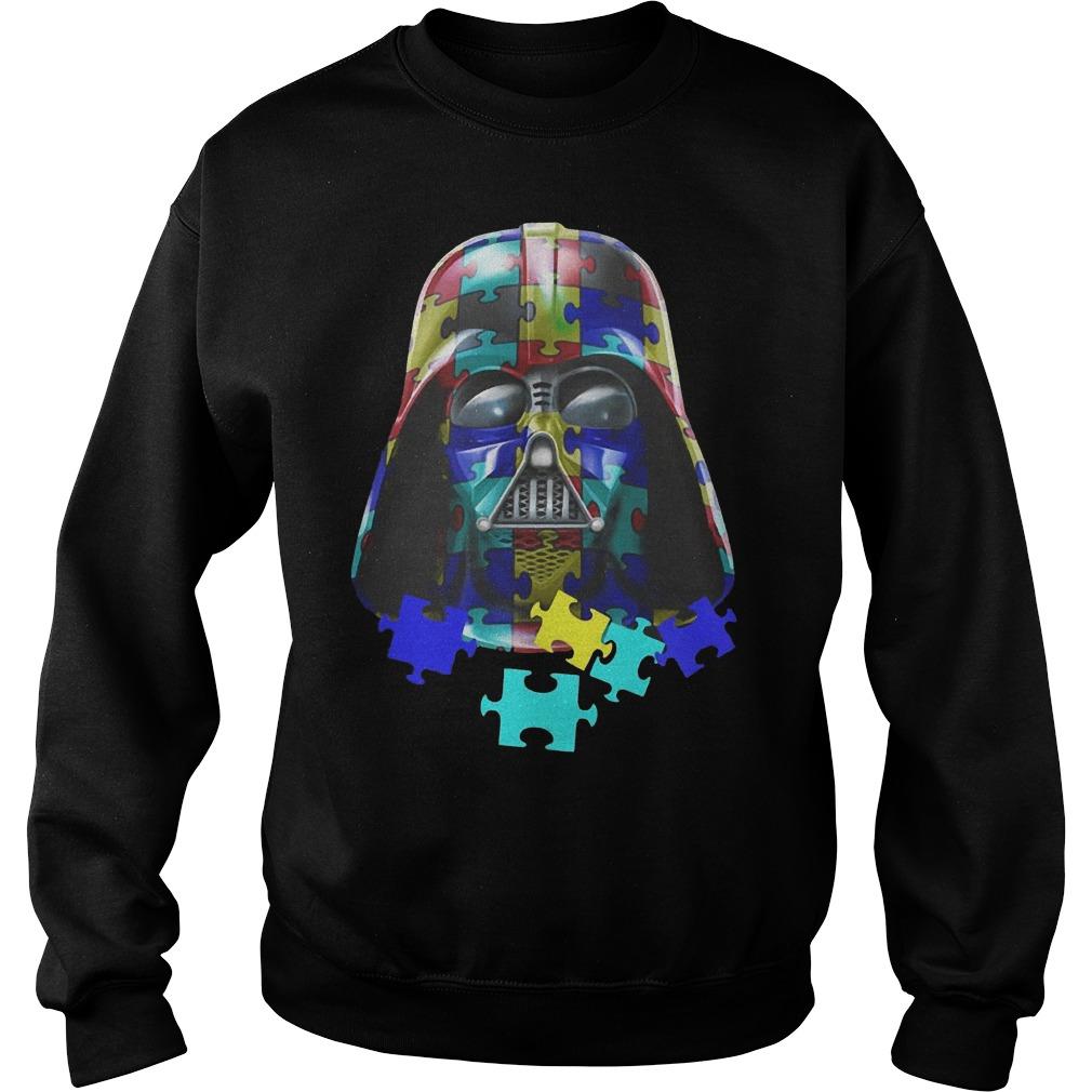 Autism Darth Vader sweater