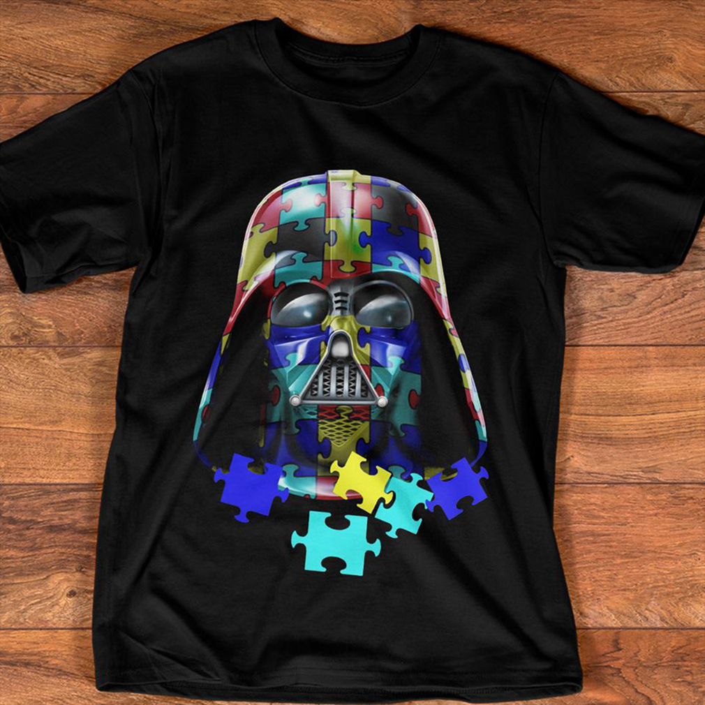 Autism Darth Vader shirt