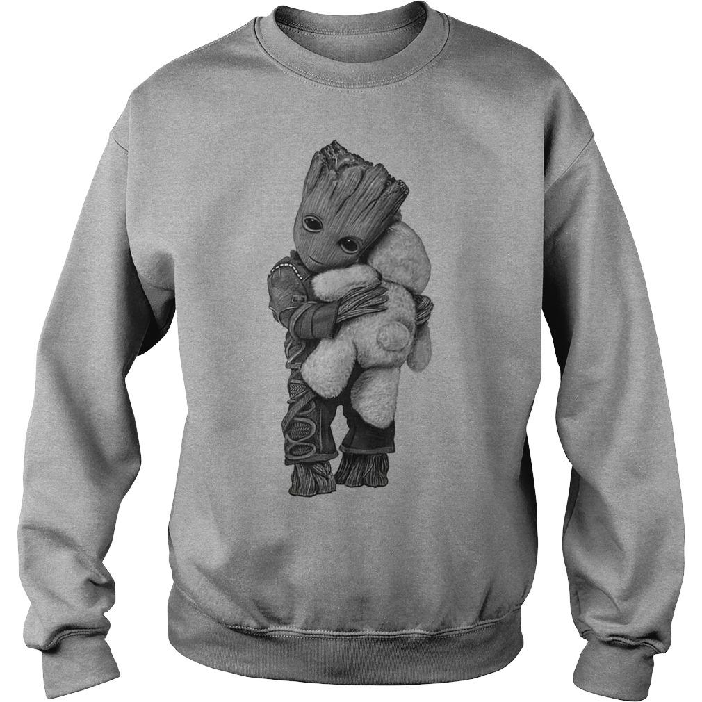 Baby groot hug Teddy Bear sweater