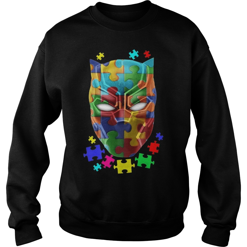 Black panther Autism sweater