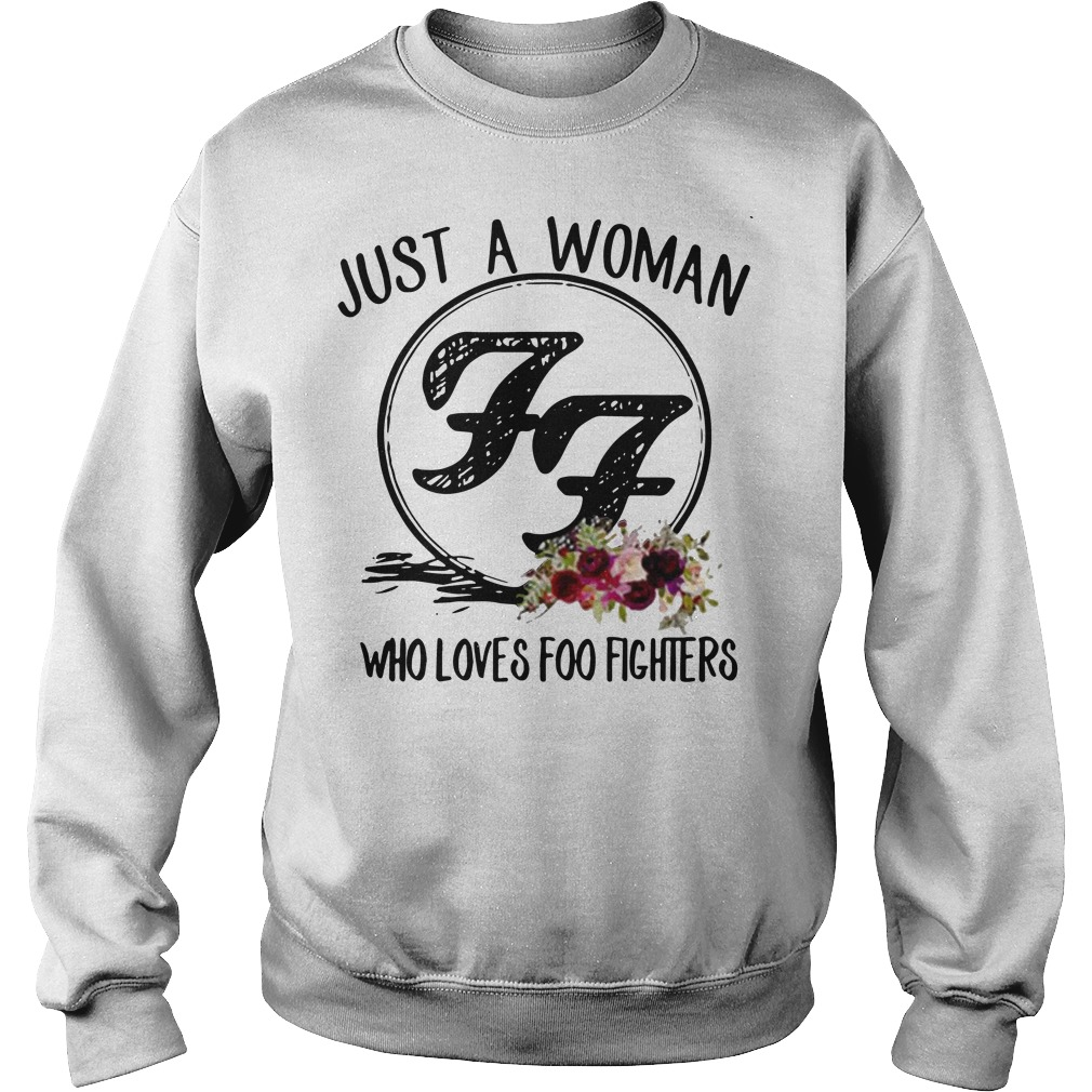 Just a woman who loves Foo Fighters Sweater