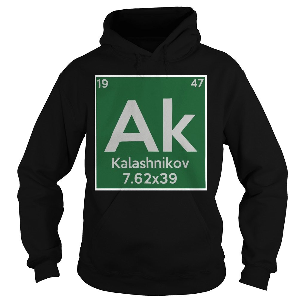 Kalashnikov ak 19 47 7.62x39 hoodie