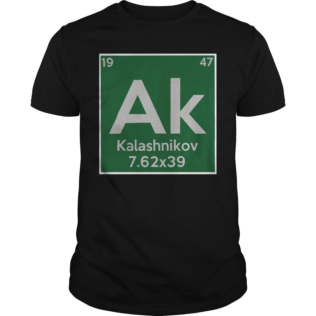 Kalashnikov ak 19 47 7.62×39 shirt