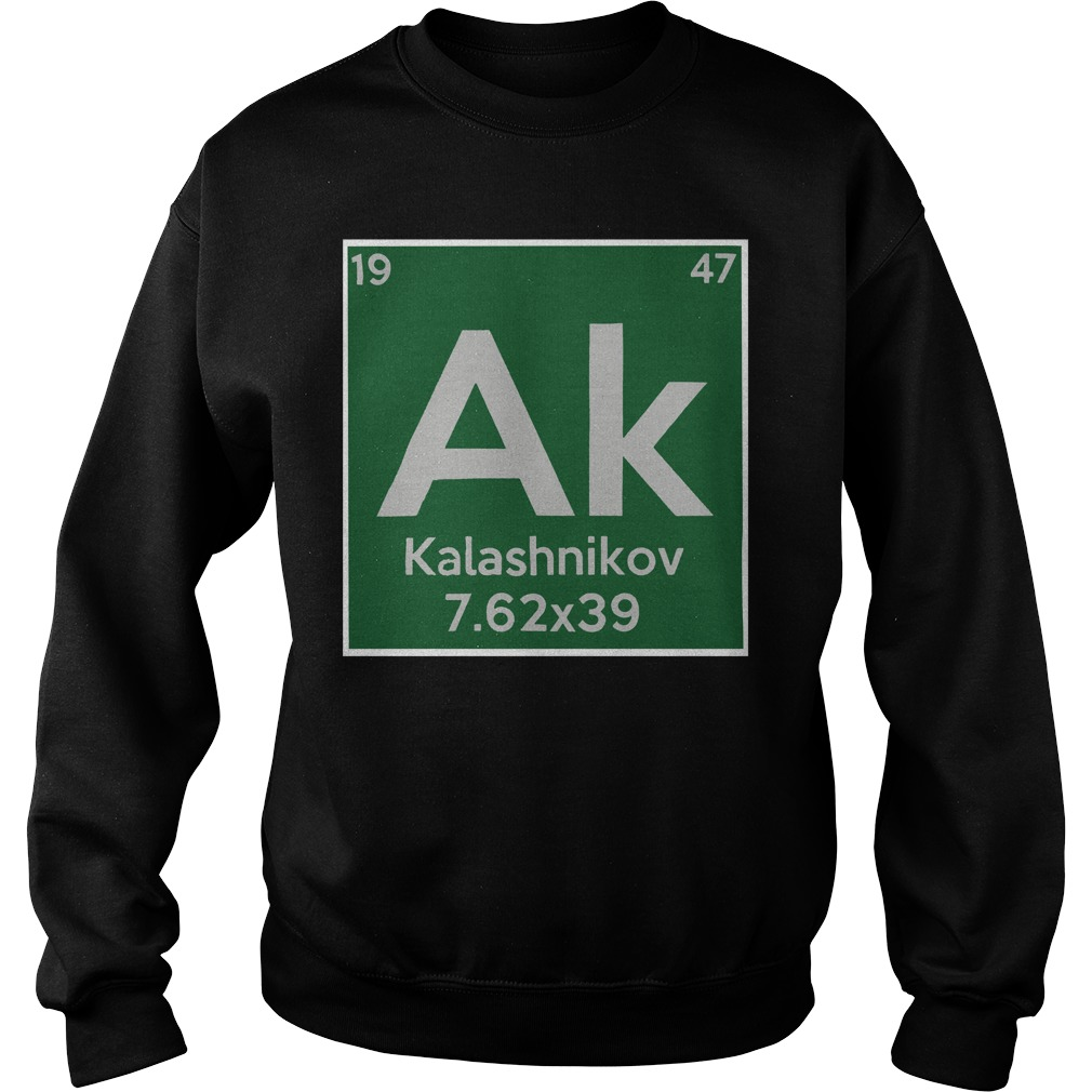 Kalashnikov ak 19 47 7.62x39 sweater