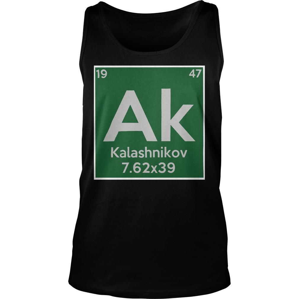 Kalashnikov ak 19 47 7.62x39 tank top