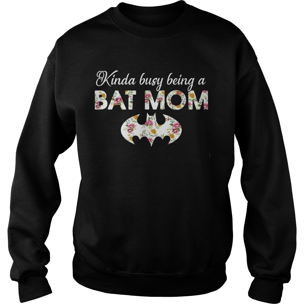 Kinda busy being a batmom sweater