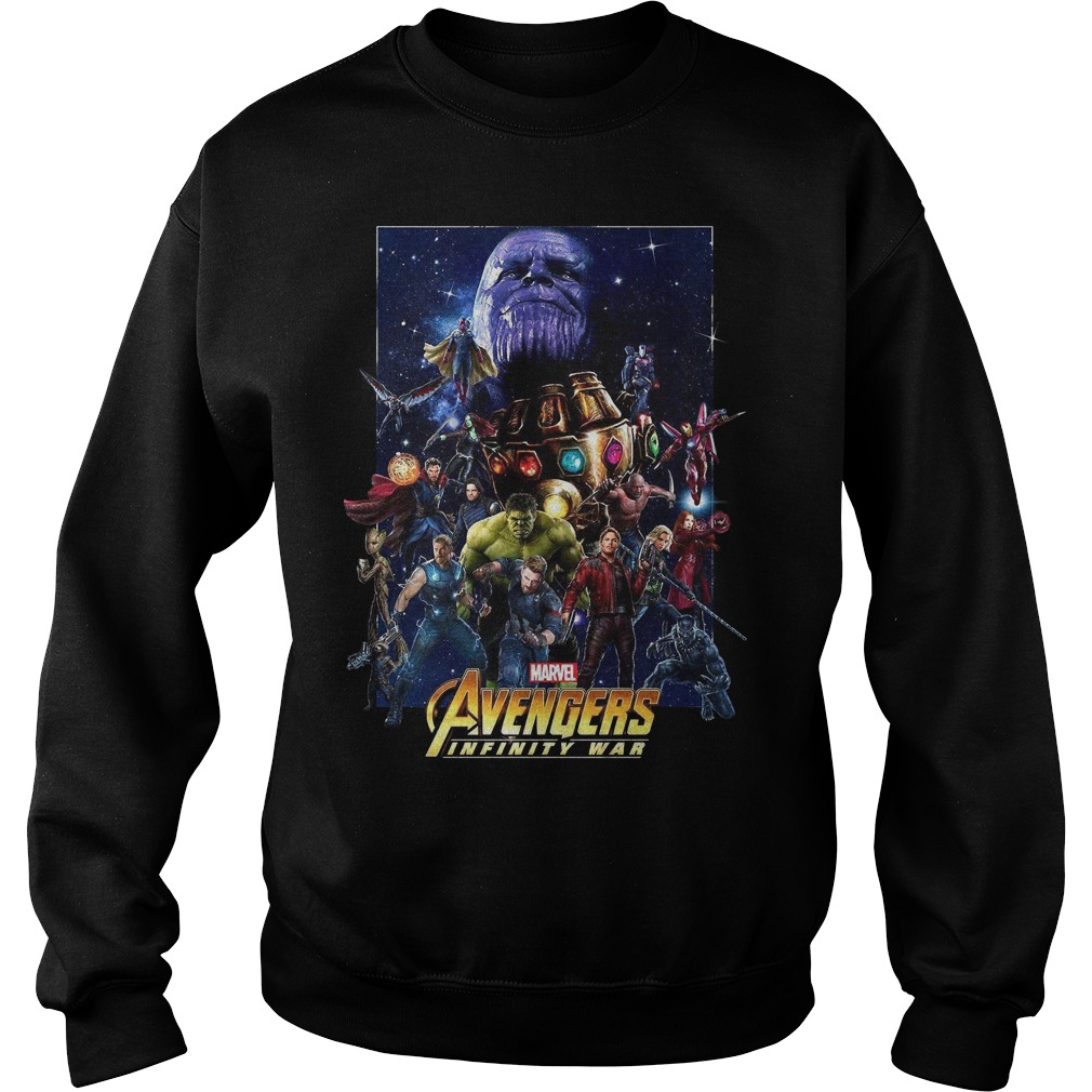 Marvel Avengers Infinity War Team sweater