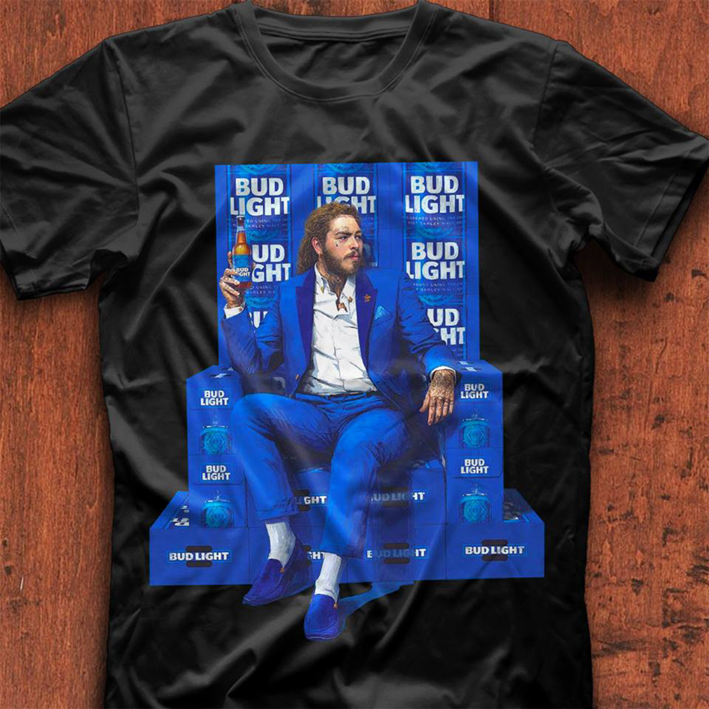 Post Malone for Bud Light shirt