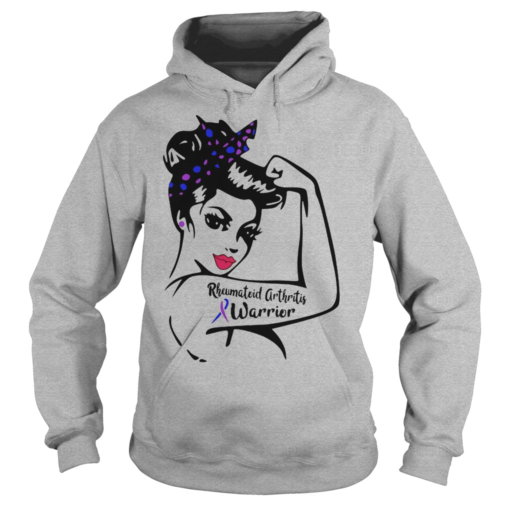 Rheumatoid arthritis breast cancer Warrior Hoodie